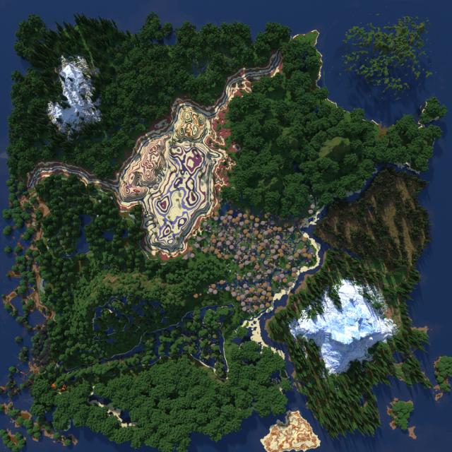 Enclave Map