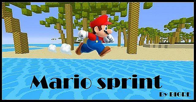 Mario Sprint Map 1.8