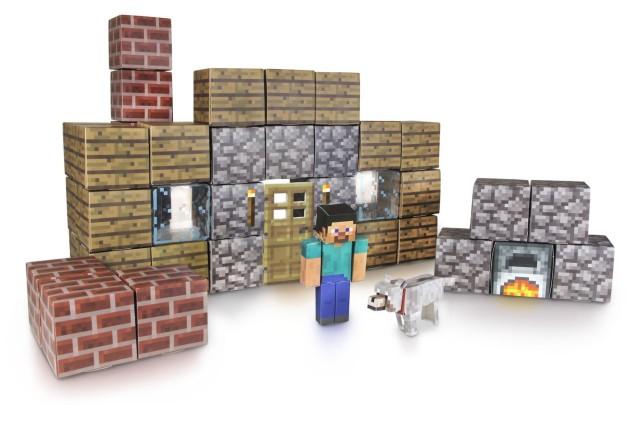 Minecraft-Papercraft-Shelter-Set