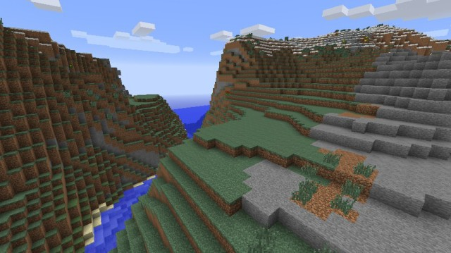 No Cubes (Smooth Terrain) Mod 1.7.10/1.7.2