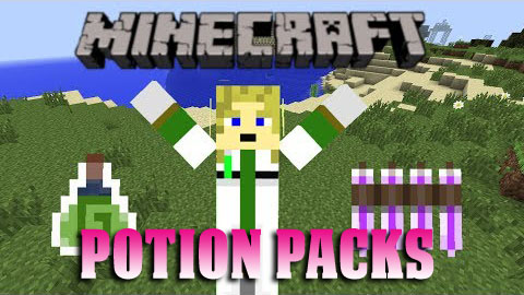 Potion Packs Mod 1.7.2/1.6.4