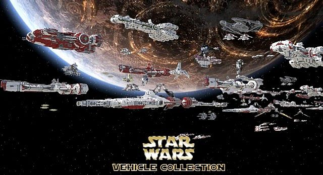 Star Wars Vehicle Collection Map 1.7.10/1.7.9/1.7.2