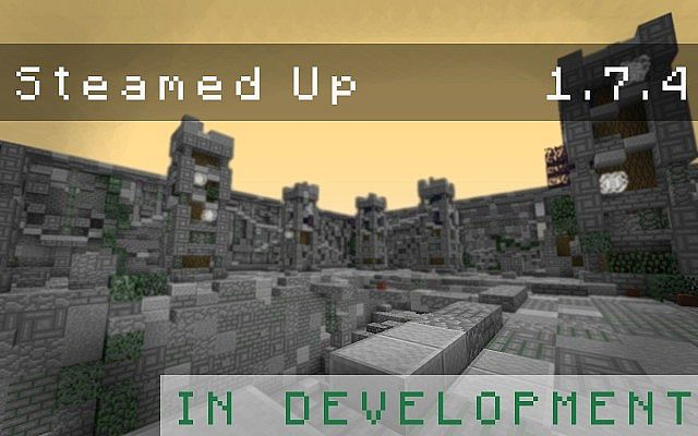 Steamed Up Resource Pack 1.7.10/1.7.9/1.7.2 [16x]