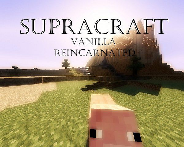 Supracraft Resource Pack 1.7.10/1.7.9/1.7.2 [128x]