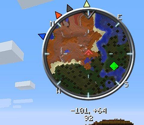 VoxelMap No Radar Mod 1.7.10