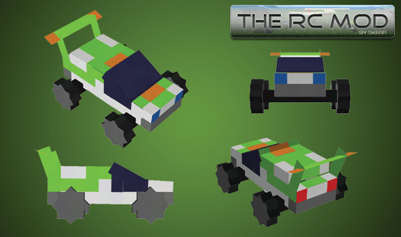 The RC Mod [1.10.2] [1.7.10]