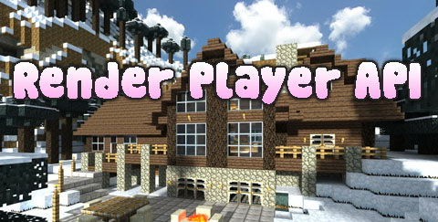 Render Player API [1.12.2] [1.11.2] [1.10.2] [1.7.10]