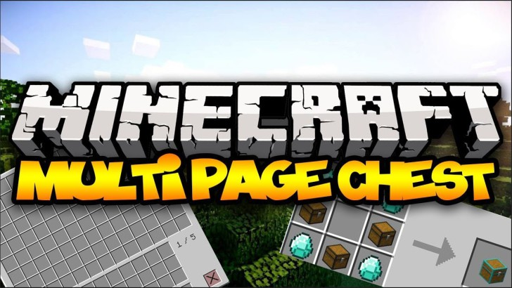 Multi Page Chest [1.10.2] [1.9.4] [1.8.9] [1.7.10]
