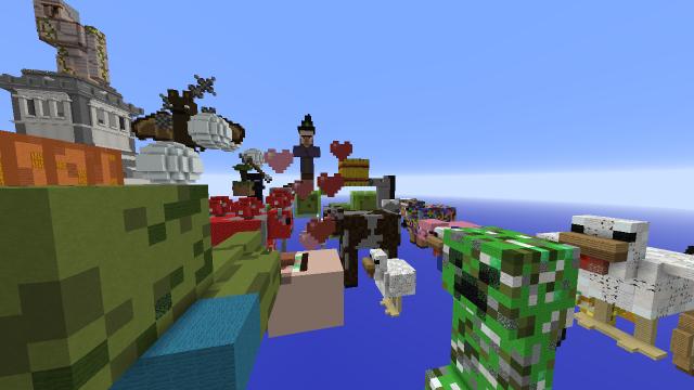Meet the Mobs Map 1.7.10