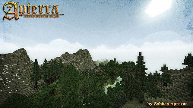 Apterra Map 1.7.10/1.7.2
