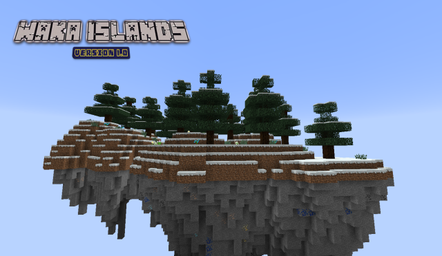 Waka Islands Map 1.8/1.7.10/1.7.2