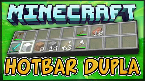 Dual Hotbars [1.11.2] [1.10.2] [1.7.10]