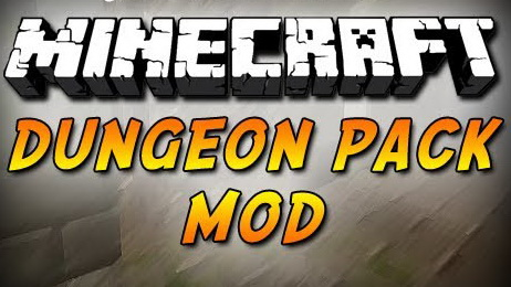Dungeon Pack Mod 1.7.10/1.7.2/1.6.4/1.5.2