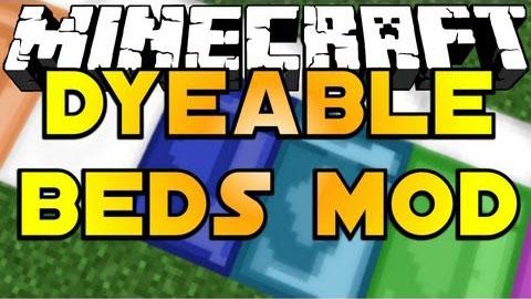 DyeableBedsMod