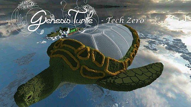 Genesis Turtle Map 1.7.10/1.7.9/1.7.2
