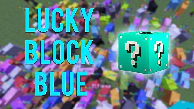 Lucky Block Blue [1.8] [1.7.10]