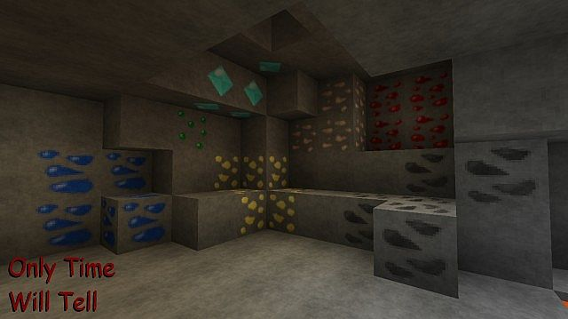 Only Time Will Tell Resource Pack 1.7.10/1.7.2 [32x]