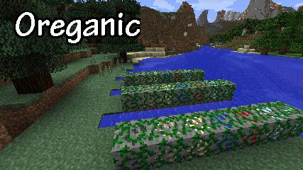 Oreganic (Growable Ores) Mod 1.7.10/1.7.2
