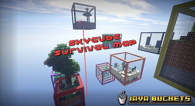 Sky Cubes Survival Map 1.7.10