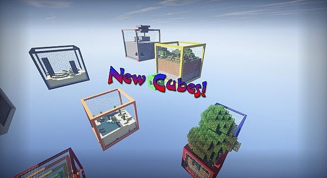 Sky Cubes Survival Map 1.7.10