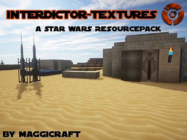 Star Wars Interdictor Resource Pack 1.7.10/1.7.9/1.7.2 [32x/64x/128x/256x/512x]