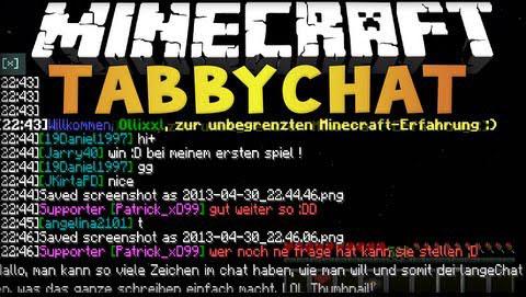 TabbyChat [1.12.2] [1.11.2] [1.10.2] [1.7.10]