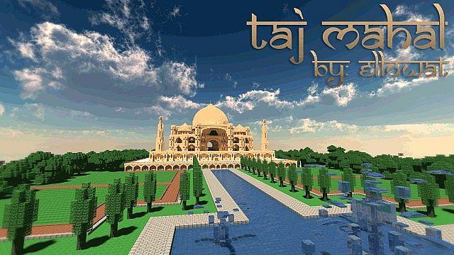 Taj Mahal Map 1.7.10/1.7.9