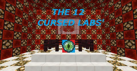 The 12 Cursed Labs' Map 1.7.10/1.7.2
