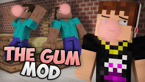 Chewing Gum Mod 1.7.2