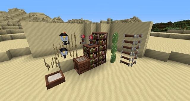 Glendale – 3D Blocks Resource Pack 1.8/1.7.10/1.7.2 [16x]