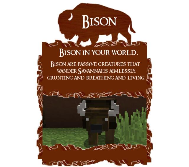 Bison Mod 1.8