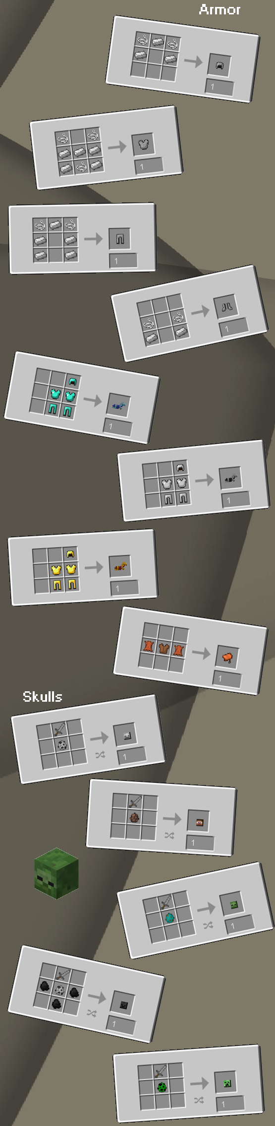 Uncrafted [1.12.2] [1.11.2] [1.10.2] [1.7.10]
