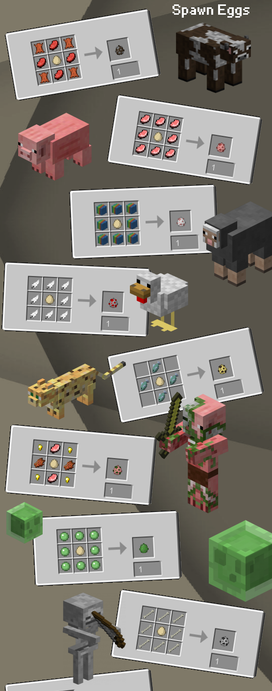 Uncrafted [1.11.2] [1.10.2] [1.8.9] [1.7.10]