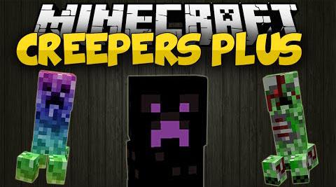 Creepers Plus Mod 1.7.10/1.7.2
