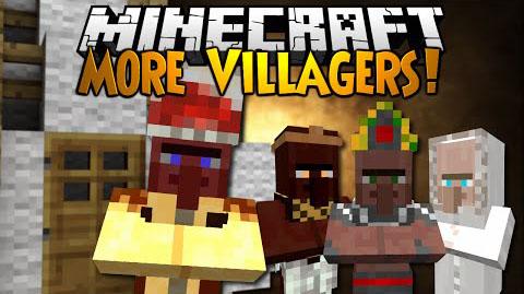 Diversity (More Villagers) Mod 1.7.10
