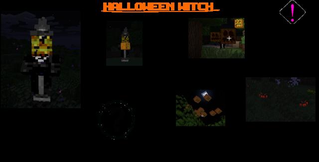 Elemental Witch (Halloween) Mod 1.7.10/1.7.2