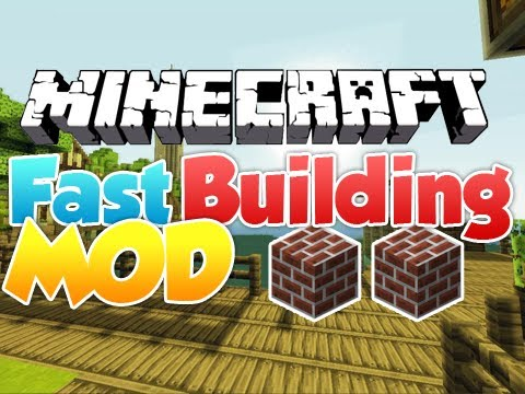 Fast Building Mod 1.8/1.7.10
