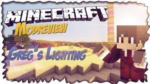 Greg's Lighting Mod 1.7.10/1.7.2/1.6.4/1.5.2