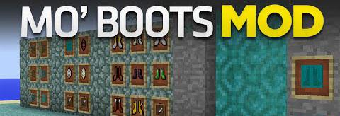 Mo' Boots Mod 1.7.10/1.7.2