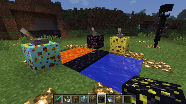 Working Sponges Mod 1.6.4/1.5.2