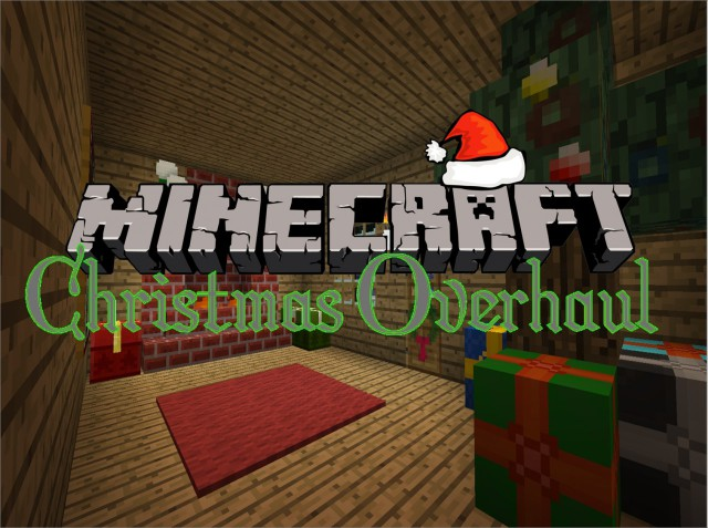 Christmas Overhaul Resource Pack 1.8/1.7.10/1.7.2 [16x]