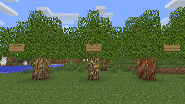 TreeOres 1.8.9/1.7.10