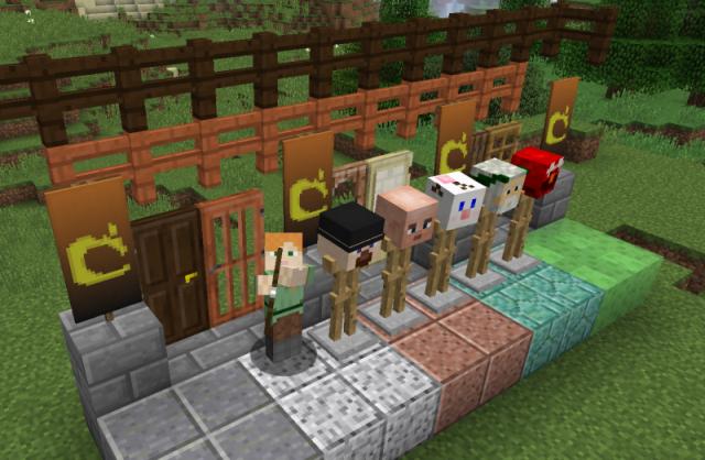 Скачать Minecraft 1.8