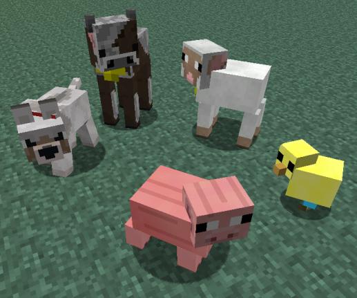 Baby Animals Model Swapper 1.8/1.7.10/1.7.2/1.6.4