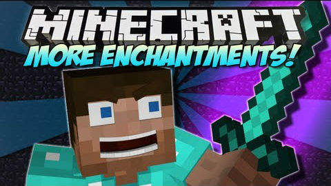 More Enchantments Mod 1.8/1.7.10/1.6.4