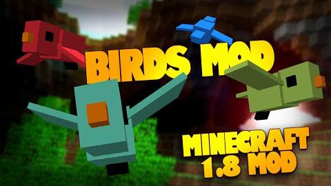 Birds Mod 1.8 by Silvercatcher