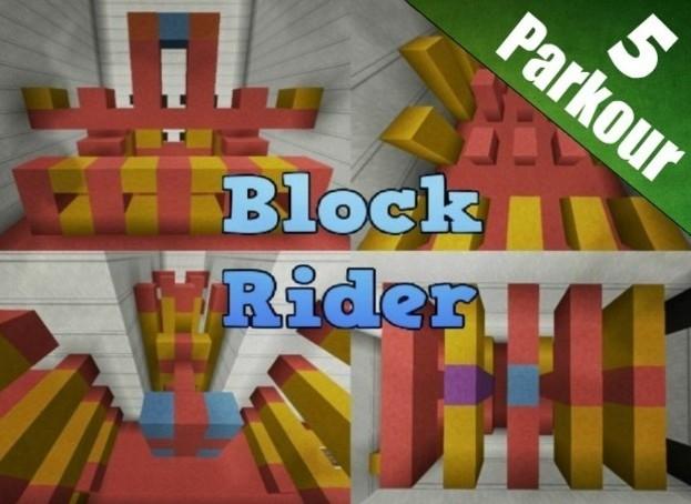 Block Rider Map 1.8.3 by 5uperTrinity