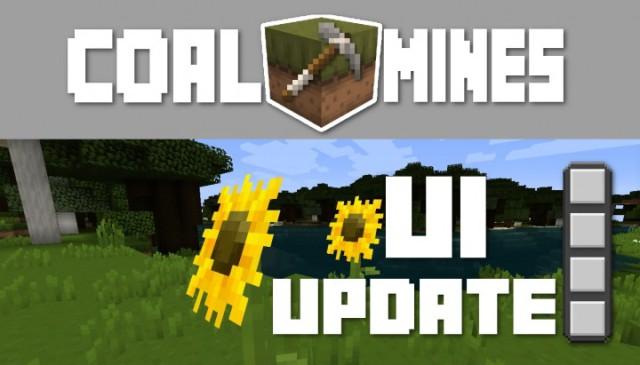 Coal Mines Resource Pack 1.8.3/1.8/1.7.10/1.6.4 [16x]
