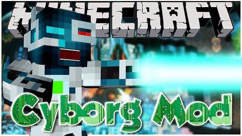 Cybernetica (Cyborg) Mod 1.7.10