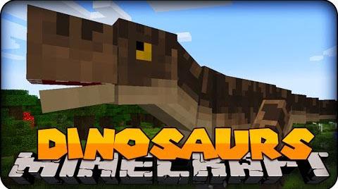 JurassiCraft - динозавры [1.12.2] [1.11.2] [1.10.2] [1.9.4] [1.7.10]